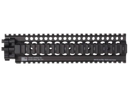 Daniel Defense Lite Rail II 10.0 Free Float Tube Handguard Quad Rail AR-15 Extended Mid Length Aluminum Black