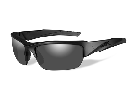 Wiley X Black Ops WX Valor Sunglasses Smoke Gray Lens