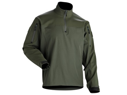 Smith & Wesson M&P Oakland Soft Shell Pullover Olive Drab XL