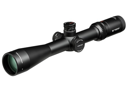 Vortex Viper HS-T Rifle Scope 30mm Tube 4-16x 44mm Side Focus 1/10 MIL Adjustment VMR-1 MRAD Reticle Matte