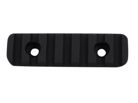 "Nordic Components 2-7/8"" Rail Section for Small Diameter Free Float Tubes Aluminum Black"