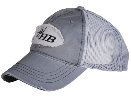 Heartland Bowhunter HB Logo Trucker Cap Cotton Gray