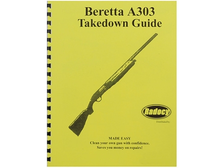 "Radocy Takedown Guide ""Beretta A303"""
