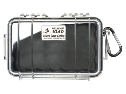"Pelican 1040 Accessories Case with Liner 7-1/2"" x 5"" x 2"" Polymer Black"