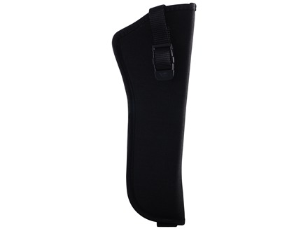 "GrovTec GT Belt Holster Right Hand with Thumb Break Size 19 for 8"" Barrel N-Frame Full Lug, Raging Bull Nylon Black"
