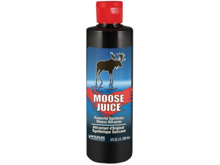 Wildlife Research Moose Juice Synthetic Moose Attractant Liquid 8 oz