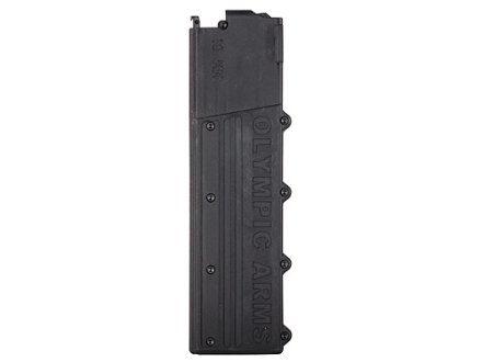 Olympic Arms Magazine AR-15 10mm Auto 18-Round Polymer Black
