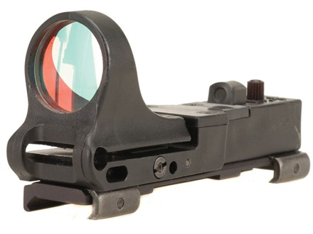 C-More Railway Reflex Sight 8 MOA Red Dot with Integral Picatinny Mount Polymer Matte