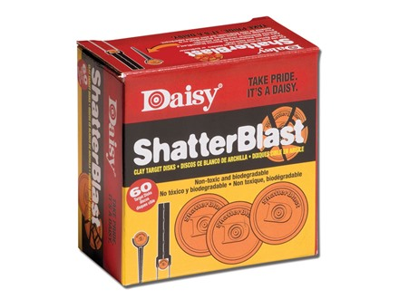 Daisy ShatterBlast Targets Box of 60