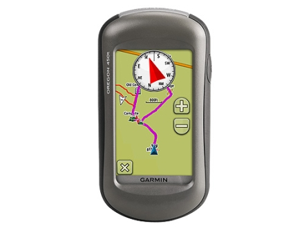 Garmin Oregon 450T Handheld GPS Unit