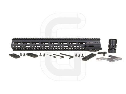 "Geissele Super Modular Rail MK1 Free Float Handguard AR-15 Aluminum Black 15"""