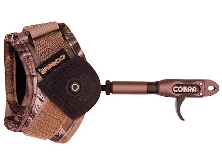 Cobra E-Z Adjust Pro Caliper Bow Release Buckle Wrist Strap Camo