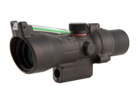 Trijicon ACOG TA50G-XB Crossbow Scope 3x 24mm Dual-Illuminated Green Chevron 300-340 FPS Range Finding Reticle Matte