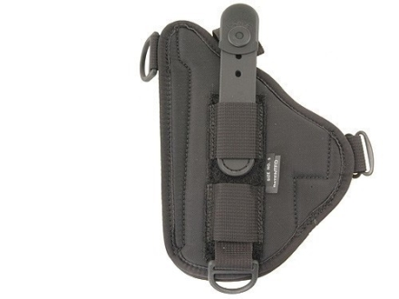Bianchi 4620H Tuxedo Holster Beretta 84, 84F, 85, 85F Cheetah, Sig Sauer P230, P232, Walther PP, PPK, PPK/S Suede Lined Trilaminate Black