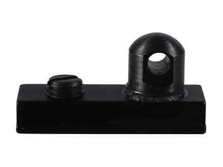 "Harris #6 Bipod Adapter Stud for European Rails 3/8"" Width Black"