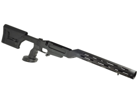 JP Enterprises Chassis System (AMCS) With Handguard Remington 700 Short Action Black