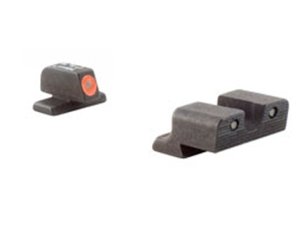 Trijicon HD Night Sight Set Springfield XD Steel Matte 3-Dot Tritium Green with Orange Front Dot Outline