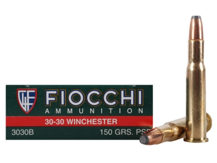 Fiocchi Shooting Dynamics Ammunition 30-30 Winchester 150 Grain Flat Soft Point Box of 20