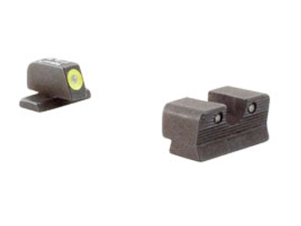 Trijicon HD Night Sight Set Sig Sauer P225, 226, 228, 239 Steel Matte 3-Dot Tritium Green with Yellow Front Dot Outline