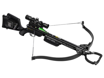 TenPoint GT Flex Recurve Crossbow Package with ACUdraw 50 Black
