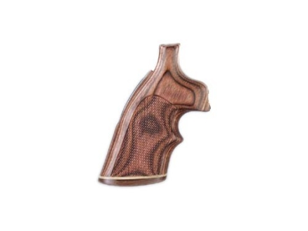 Hogue Fancy Hardwood Grips with Accent Stripe and Top Finger Groove Ruger Blackhawk, Single Six, Vaquero Checkered