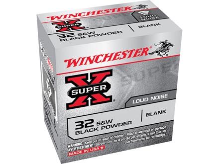 Winchester Super-X Ammunition 32 S&W Blank Black Powder