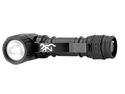 Browning On Point Flashlight LED with 1 AA Battery Aluminum Black