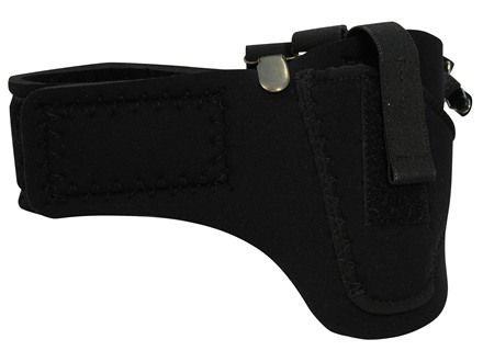 DeSantis Thigh High Leg Holster Left Hand Neoprene Black