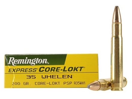 Remington Express Ammunition 35 Whelen 200 Grain Pointed Soft Point Box of 20