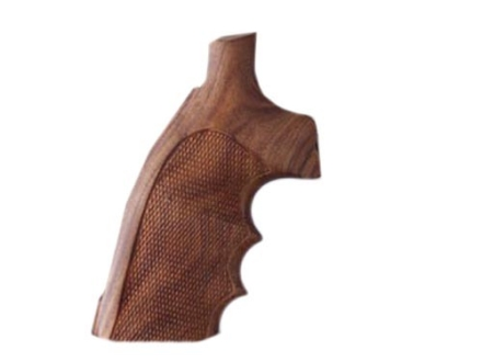 Hogue Fancy Hardwood Grips with Finger Grooves Ruger Security Six Checkered Pau Ferro