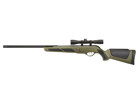 Gamo Bone Collector IGT Air Rifle 177 Caliber Pellet Synthetic Stock Matte Barrel with 4x32mm Scope