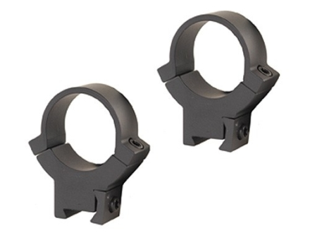 "Warne 1"" 22 Caliber Rings Matte High"