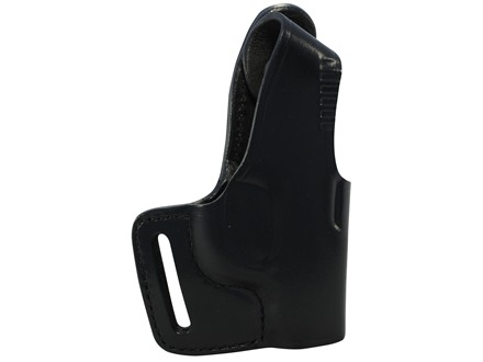 Bianchi 75 Venom Outside the Waistband Holster Right Hand Ruger LCP Leather Black