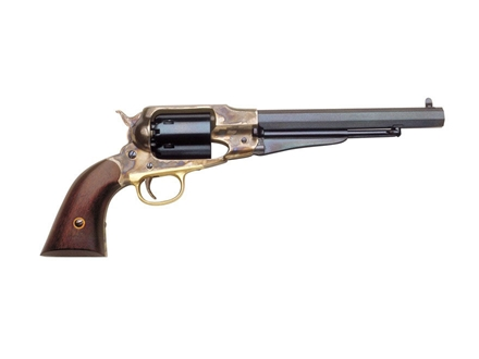 "Uberti 1858 Remington Steel Frame Black Powder Revolver 44 Caliber 8"" Stainless Steel Barrel"