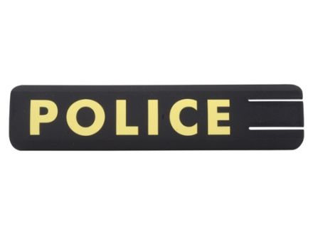 ERGO Full Profile Police Rail Cover Set of 2 Polymer Black