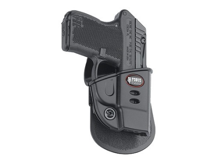 Fobus Evolution Paddle Holster Right Hand Kel-Tec 2nd Generation P-3AT, Ruger LCP Polymer Black