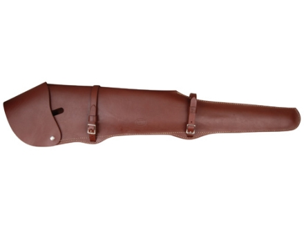 "Hunter Scoped 26"" Rifle Scabbard Leather Tan"