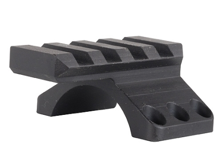 Badger Ordnance 30mm Max-50 Picatinny-Style Ring Top with Picatinny-Style Accessory Rail Matte