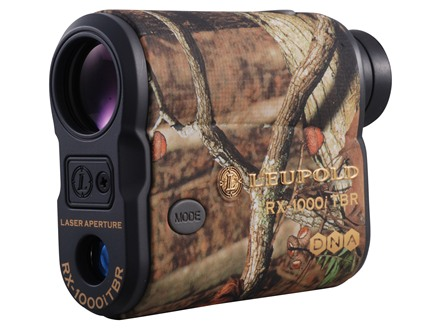 Leupold RX-1000i TBR with DNA Laser Rangefinder 1000 Yard True Ballistic Range 6x Armored Mossy Oak Break-Up Camo
