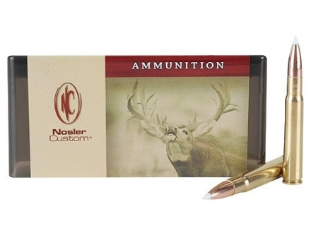 Nosler Custom Ammunition 338-06 A-Square 180 Grain AccuBond Spitzer Box of 20