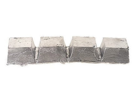 Certified 20 to 1 Bullet Casting Alloy Ingot (20 Parts Lead to 1 Part Tin) Approximately 7.45 lbs Average Weight