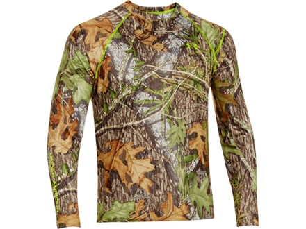 Under Armour Men's EVO Scent Control HeatGear Long Sleeve T-Shirt