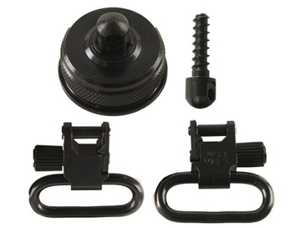 "Uncle Mike's Quick Detachable Sling Swivel Cap Set Remington 11-87 12 Gauge 1"" Black"
