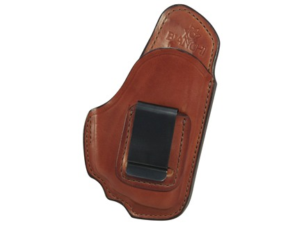 Bianchi 100 Professional Inside the Waistband Holster Right Hand Ruger LC9 with Crimson Trace LG412 Laser Leather Tan