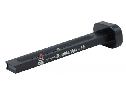 Double-Alpha In-Mag Bullet Counter Anodized Aluminum Black