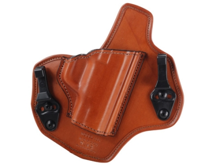 Bianchi Allusion Series 135 Suppression Tuckable Inside the Waistband Holster Right Hand Smith & Wesson M&P 9mm, 40 S&W Leather Tan