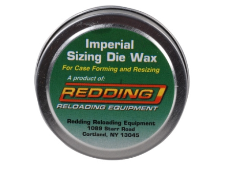 Redding Sizing Die Wax 1 oz Tin