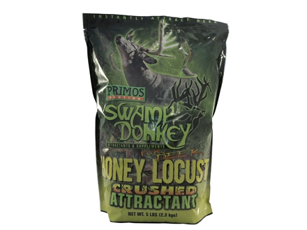 Primos Swamp Donkey Crushed Honey Locust Deer Attractant Granular 5 lb