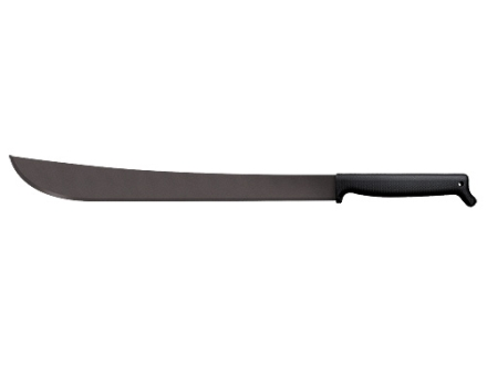 "Cold Steel Two Handed Latin Machete 21"" 1055 Carbon Steel Blade Polypropylene Handle Black"