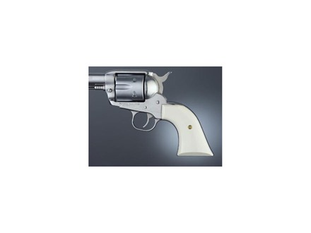 Hogue Grips Ruger Blackhawk, Single Six, Vaquero Ivory Polymer